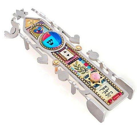 Seeka Column of Blessing Mezuzah by Seeka - ModernTribe - 1