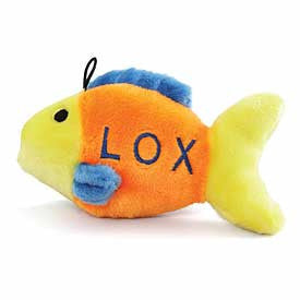 Copa Judaica Pet Toy Lox Jewish Dog Toy