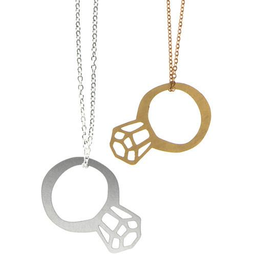 Polli Ring Bling Necklaces - Gold or Stainless Steel - ModernTribe