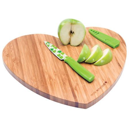 Bamboo Heart Shaped Cutting Board by Decor Craft - ModernTribe