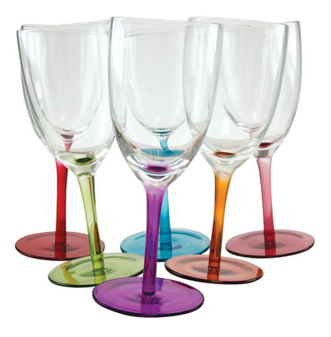 Tipsy Swirling Wine Glasses by Decor Craft - ModernTribe - 1