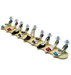 High Heel Shoe Menorah by Copa Judaica - ModernTribe - 1