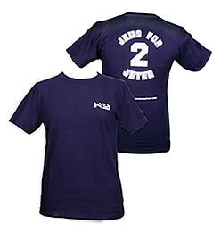 Jews For Jeter T-shirt by Jewish Fashion Conspiracy - ModernTribe - 1