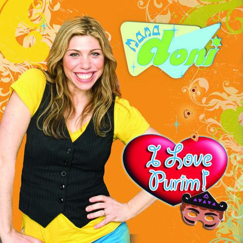 Mama Doni's I Love Purim CD by Mama Doni - ModernTribe