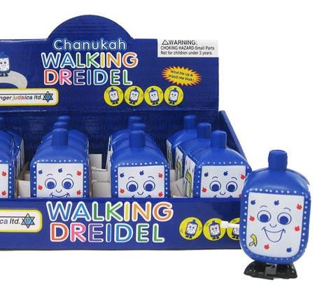 Squeezable Walking Dreidel - Ages 3+ by Rite Lite - ModernTribe