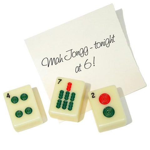 Mah Jongg Magnets - Set of 3 by Copa Judaica - ModernTribe