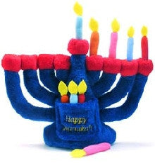 Plush Menorah for Kids by JET - ModernTribe