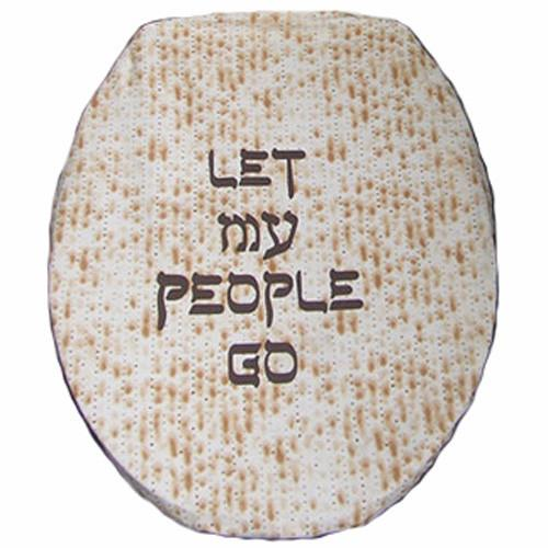 Let My People Go Toilet Seat Cover | As Seen on The Jay Leno Show by Davida - ModernTribe