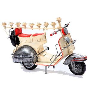 Scooter Menorah by Copa Judaica - ModernTribe