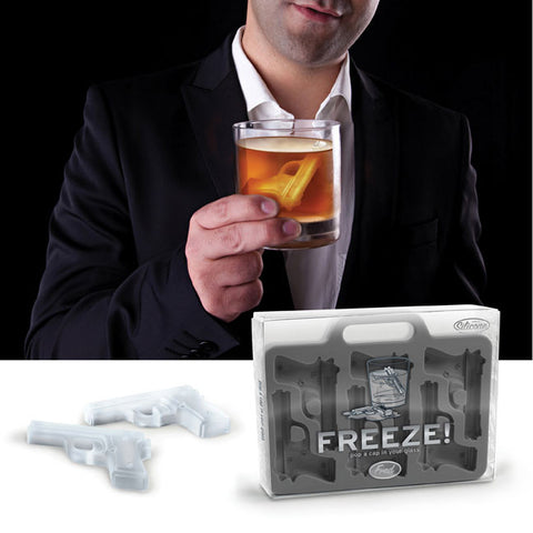 FREEZE! Handgun Ice Tray by Fred - ModernTribe - 1