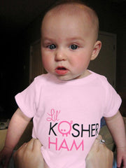 Kosher Ham T-Shirt & Bodysuit For Kids by Other - ModernTribe - 1