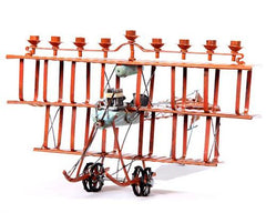 Fantastic Flying Machine Menorah by Copa Judaica - ModernTribe - 1