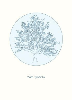 Tree of Life Sympathy Card by Other - ModernTribe