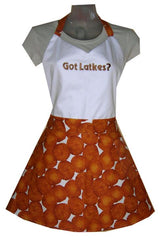 Got Latkes Cookin Hot Apron by Davida - ModernTribe