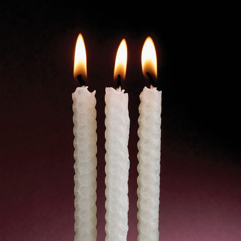 Beeswax Hanukkah Candles by Rite Lite - ModernTribe - 2