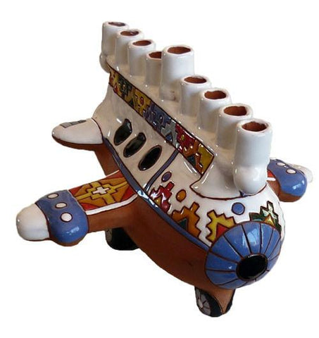 Andean Airplane Menorah by Other - ModernTribe - 1