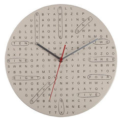 Word Search Clock by Decor Craft - ModernTribe