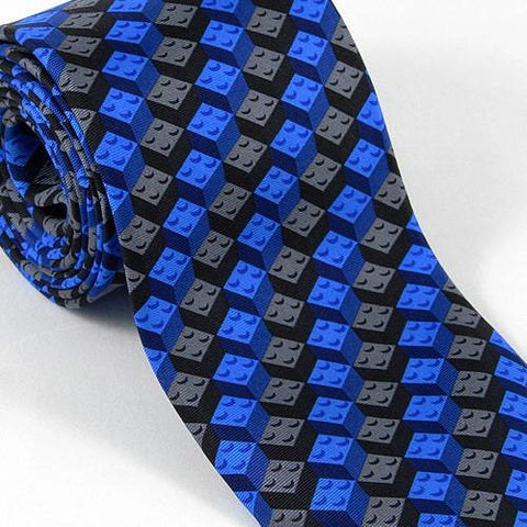 Building Blocks Necktie by Josh Bach - ModernTribe