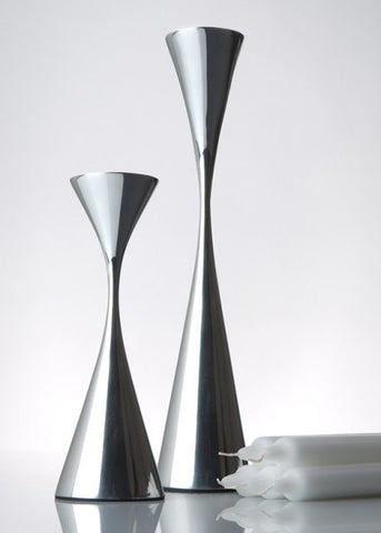 Tapered Polished Candlesticks | Museum of Robots by Museum of Robots - ModernTribe