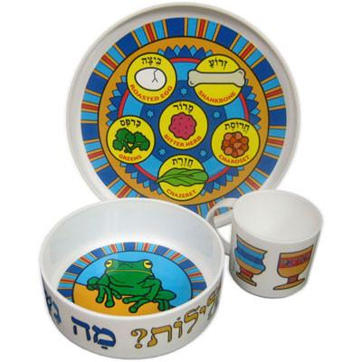 My Little Dishes Passover Set - Ages 1 to 6 by Pigment & Hue - ModernTribe