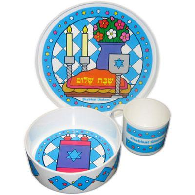 My Little Dishes Shabbat Set - Ages 1-6 by Pigment & Hue - ModernTribe