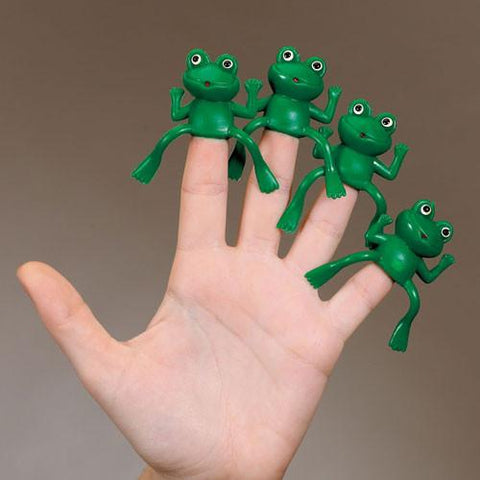 Passover Finger Frogs - Ages 3+ by Rite Lite - ModernTribe