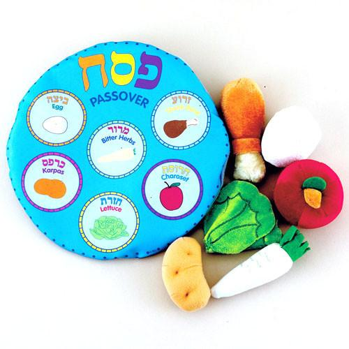 Soft Seder Set in Reusable Pouch- Ages 3+ by Rite Lite - ModernTribe - 1