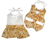 Fancy Matzah Bibs | For Boys & Girls - Baby by Davida - ModernTribe