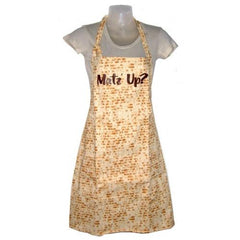 """Mat'z Up"" Matzah Apron by Davida - ModernTribe"