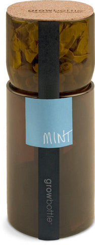 Mint Grow Bottle - Winner of Eco-Choice Award! by Pottingshed Creations - ModernTribe - 1