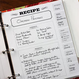 Rag & Bone Bindery Recipe Journal by Rag and Bone Bindery - ModernTribe - 7