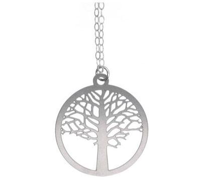 Polli Elm Tree of Life Necklace - Small, Silver by Polli - ModernTribe - 1