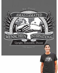 Amalgamated Menschen International T-Shirt by Jewnion Label - ModernTribe - 1