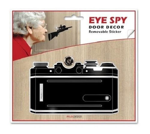 Camera Eye Spy Peep Hole Decoration by Shahar Peleg - ModernTribe - 1