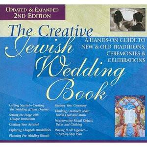 The Creative Jewish Wedding Book by Gabrielle Kaplan-Mayer by Other - ModernTribe