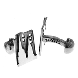 New York: City That Never Sleeps Cuff Links by Cynthia Gale GeoArt - ModernTribe - 1