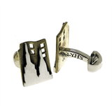 New York: City That Never Sleeps Cuff Links by Cynthia Gale GeoArt - ModernTribe - 2