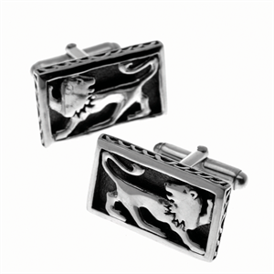 Lion of Judah Cufflinks by Cynthia Gale GeoArt - ModernTribe