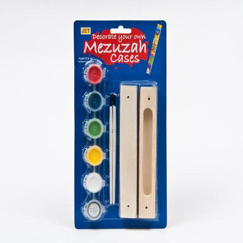Paint Your Own Mezuzah Case Craft by JET - ModernTribe