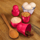 M-Cups in Red! Favorite Babushka Russian Stacking Doll Measuring Cups Now in Red by Fred - ModernTribe - 1