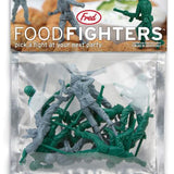 Food Fighters Party Picks -- Toy Soldiers For Your Latkes by Fred - ModernTribe - 2