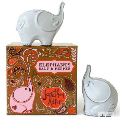 Jonathan Adler Elephants Salt & Pepper by Jonathan Adler - ModernTribe - 1