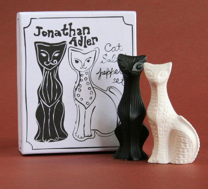 Jonathan Adler Cat Salt & Pepper by Jonathan Adler - ModernTribe