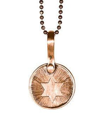 Keepsake Jewish Star - In Copper by Marla Studio - ModernTribe