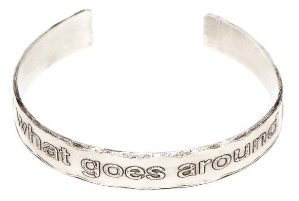 What Goes Around, Comes Around Cuff Bracelet by Marla Studio - ModernTribe - 1