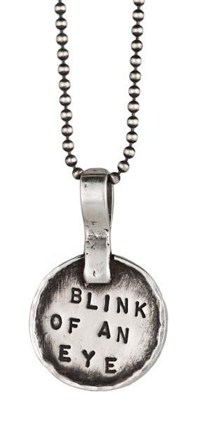 Blink of an Eye Necklace in Sterling Silver by Marla Studio - ModernTribe - 2