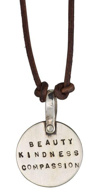 Beauty, Kindness, Compassion Necklace by Marla Studio by Marla Studio - ModernTribe - 2