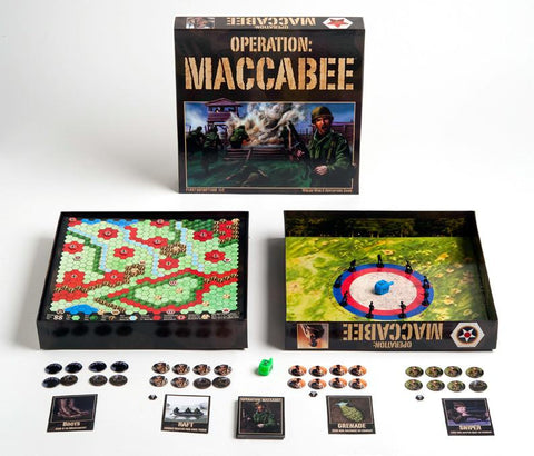 Operation Maccabees -- Spin Dreidels. Kill Nazis. by Copa Judaica - ModernTribe - 1