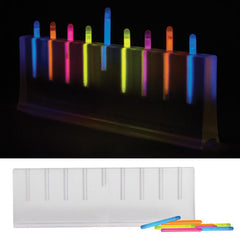 Glow Stick Menorah - Perfect for Kids & College Dorm Rooms by Decor Craft - ModernTribe - 1