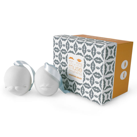 Jonathan Adler Mr. & Mrs. Muse Ornaments by Jonathan Adler - ModernTribe - 1